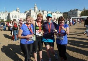 Ladies Running Marathon